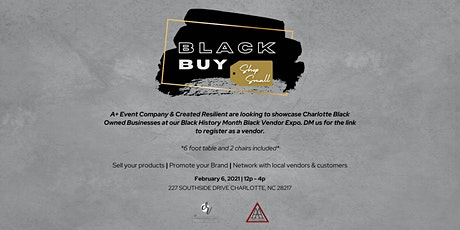 Black Buy: Shop Local Black Owned Vendors Pop Up tickets