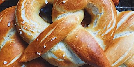 Online Baking Workshop - Soft Pretzels tickets