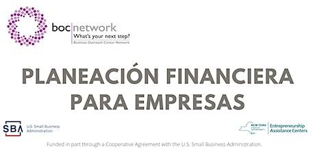 Planeación Financiera Para Empresas entradas