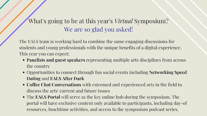 2021 Emerging Arts Leaders Symposium (EALS) image