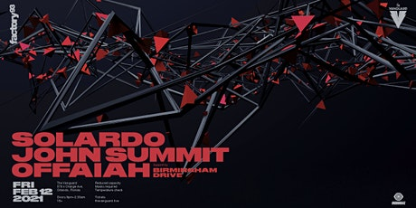 Factory93 presents Solardo, John Summit & Guests tickets