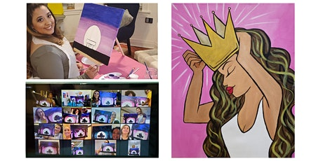 """Live Virtual Painting Class """"Queen"""" tickets"""