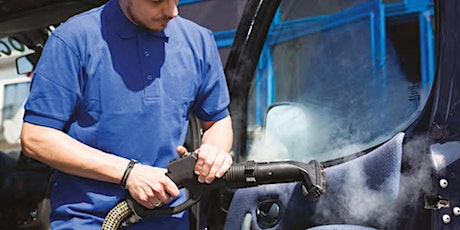 Car Steam Cleaning ZOOM Webinar and Steam Detailing Demonstration tickets