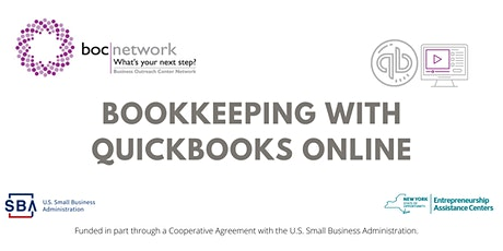 Bookkeeping with QuickBooks Online tickets