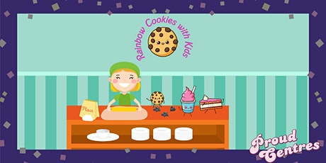 Rainbow Cookies with kids tickets