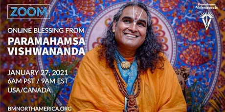 Online Blessing with Paramahamsa Vishwananda for USA & Canada tickets
