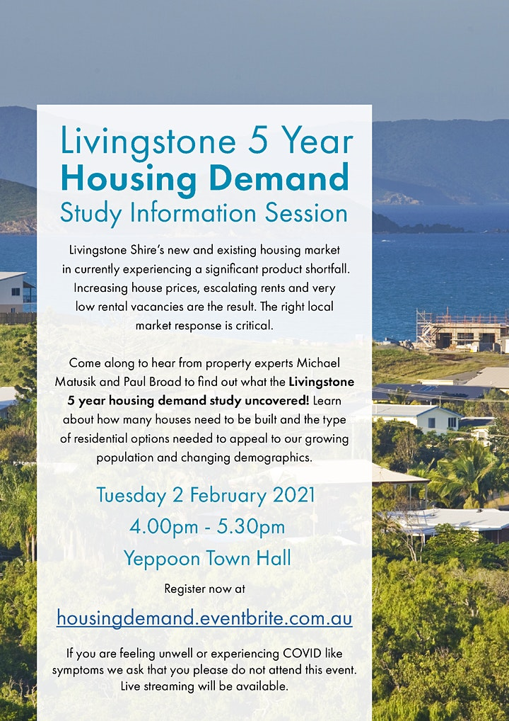 Livingstone Housing Demand Study Information Session image