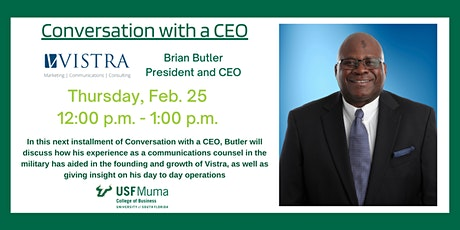 Conversation with a CEO: Brian Butler tickets