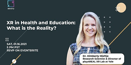 XR in Health and Education: What is the Reality? tickets