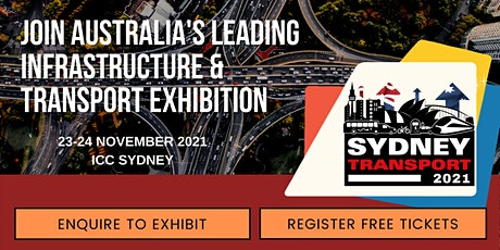 SYDNEY TRANSPORT EXPO - Part of Sydney Build Expo tickets