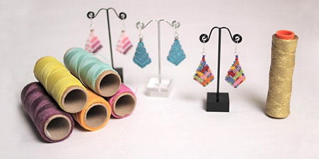 WORKSHOP | Diamond drop micro macrame earrings with Vicrame Creations tickets
