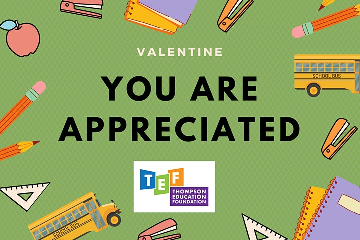 TSD Virtual Valentines (for Thompson Education Foundation, Loveland CO) image