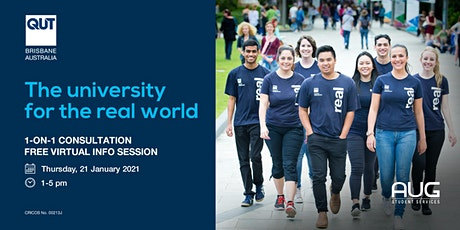 Virtual Info Session - QUT tickets