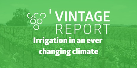 Irrigation in an ever changing climate tickets