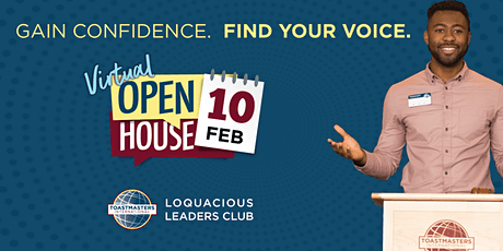 Toastmasters Open House - Loquacious Leaders tickets