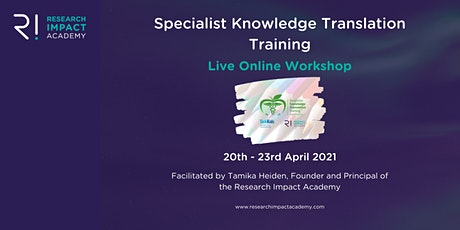 Specialist Knowledge Translation Training tickets