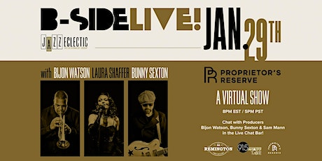 B-SIDE LIVE! with The Jazz Eclectic Virtual Show tickets