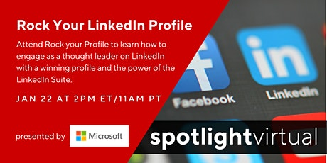 Rock Your LinkedIn Profile tickets