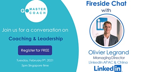 Masters' Series Webinar: Fireside Chat - Coaching & Leadership tickets