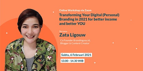 Transforming Your Digital (Personal) Branding in 2021 tickets