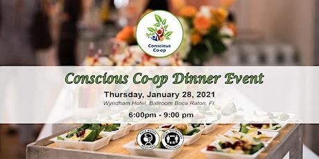 Conscious Co-op  Dinner (Jan 2021) tickets