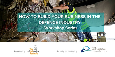 How to build your business in Defence tickets