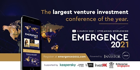 Emergence 2021 - The World's First 24 Hour Venture Investor Conference tickets