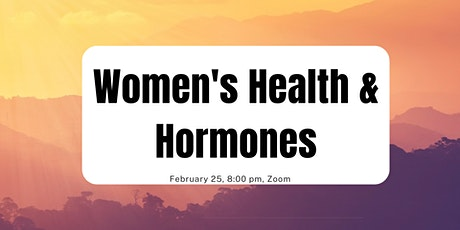 Wellness Education Series #7: Women's Health and Hormones tickets