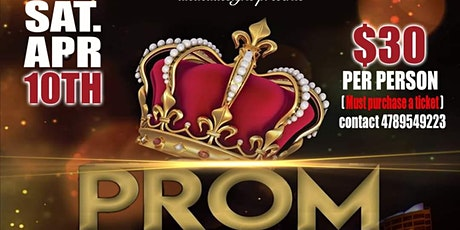 aicacadesigns presents PROM 2021 tickets