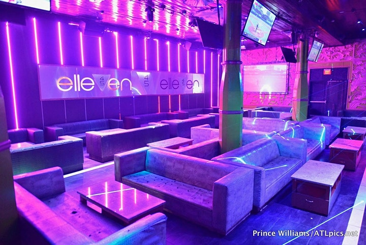 ELLEVEN 45 (ALL STAR WEEKEND ATLANTA!) HOOKAH FOOD PARTY! FRIDAY SATURDAY image