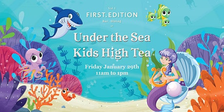 Under the Sea Kids High Tea tickets