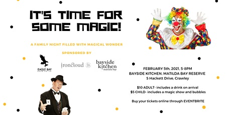 Magic Night for the family on Matilda Bay tickets