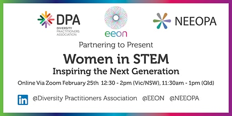 Women in STEM - Join event EEON, NEEOPA, DPA tickets