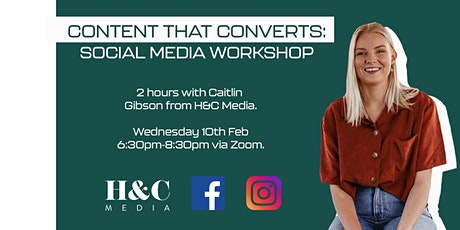 Content that Converts: Social Media Workshop tickets