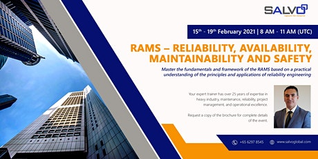 RAMS – Reliability, Availability, Maintainability and Safety tickets
