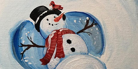 Virtual Paint Party- Snowman Angels - Art Attack! Paint Party tickets