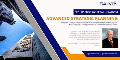 Advanced Strategic Planning tickets