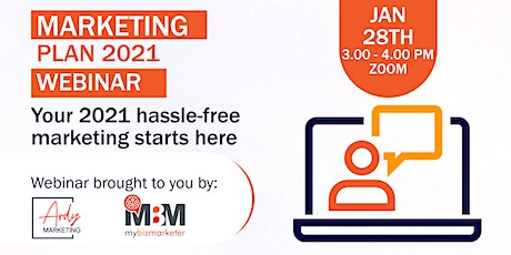 The Master Marketing  Plan: Plan with the Experts tickets
