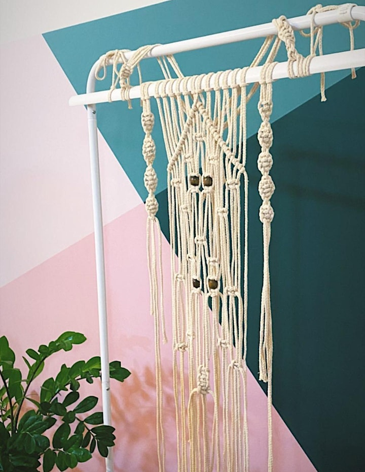 Macrame Wall Hangings Workshop image