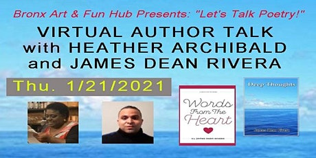 Let's Talk Poetry - Author Talk with Heather Archibald & James Dean Rivera tickets