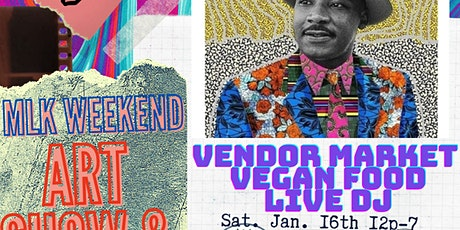 SNOW MOON SATURDAY ART SHOW AND POP UP tickets