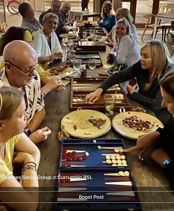 CURRUMBIN Backgammon  Pizza and Play image
