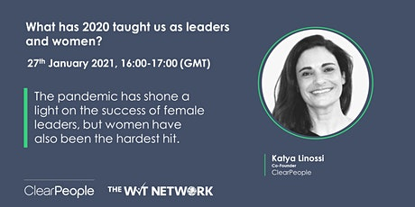 What has 2020 taught us as leaders and women? tickets