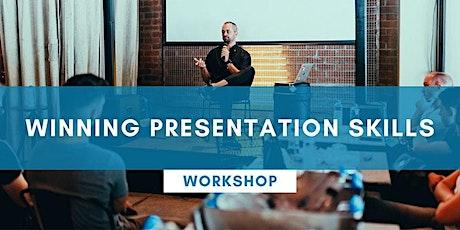 Winning Presentation Skills - ONLINE tickets