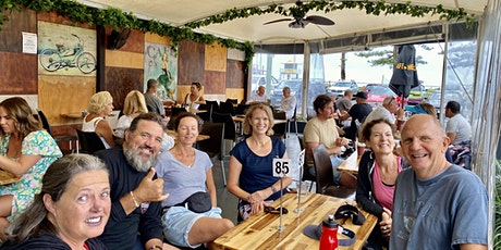 MERMAID BEACH Cafe on Hedges 30 minute run/walk then coffee tickets