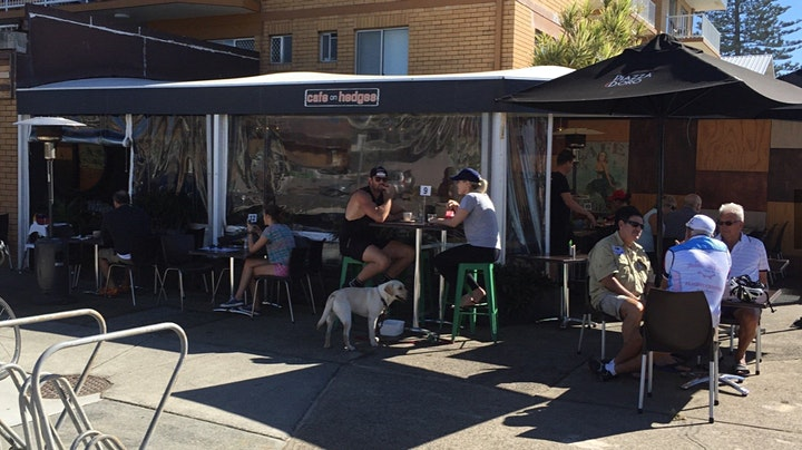 MERMAID BEACH Cafe on Hedges 30 minute run/walk then coffee image