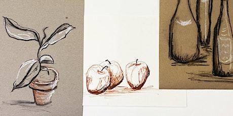 Online-Workshop | Malen & Zeichnen | Für 8- bis 14-Jährige Tickets