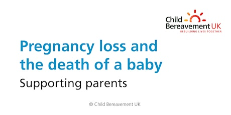 Pregnancy Loss and the Death of a Baby: Supporting Parents (3 hour webinar) tickets