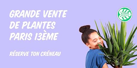 Grande Vente de Plantes - Paris 13 ème tickets