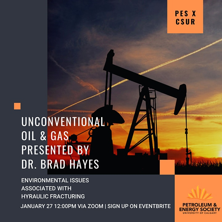 PES  x CSUR | Unconventional Oil & Gas With Dr. Brad Hayes image